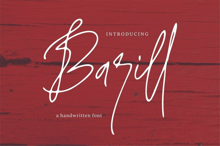 Web Font Barill - A Handwritten Font example image 1