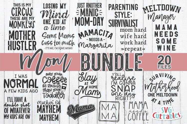 Mom SVG Bundle | Mom Shirt Bundle
