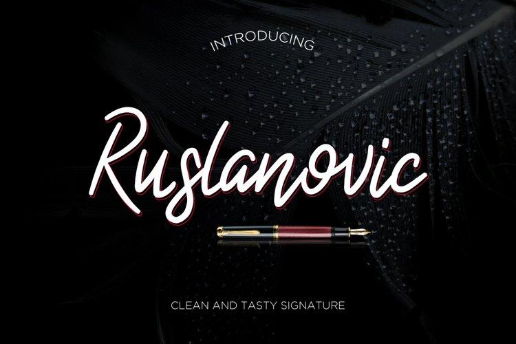 Ruslanovic example image 1