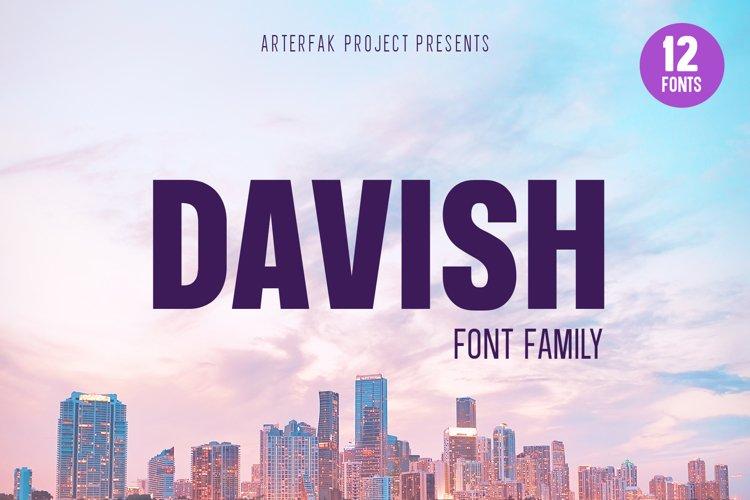 Davish Font Family example image 1