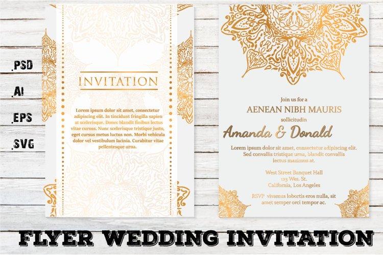Flyer Wedding Invitation Template