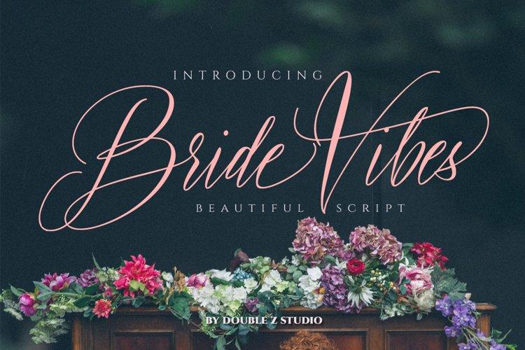 Bride Vibes Script example image 1