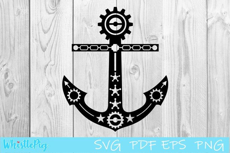 Download Steampunk Svg Steampunk Anchor Svg Wings Svg Steampunk Cog 748241 Cut Files Design Bundles