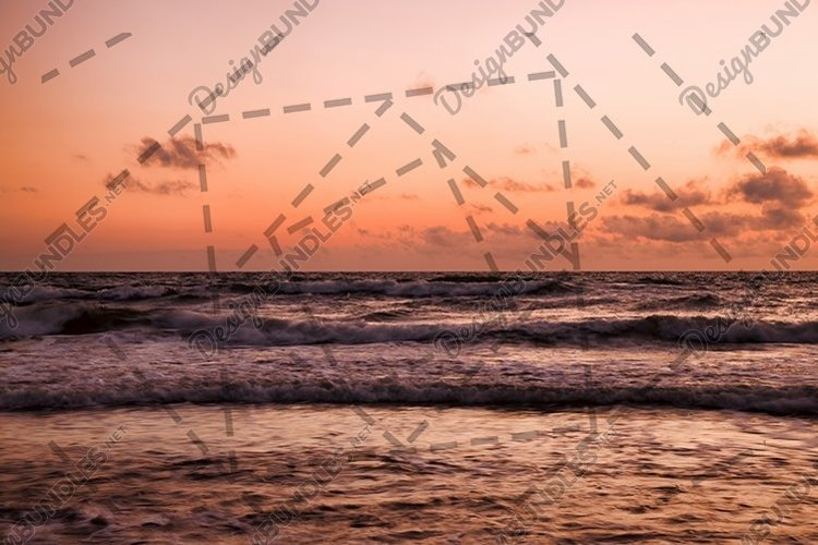 seascape at sunset example image 1