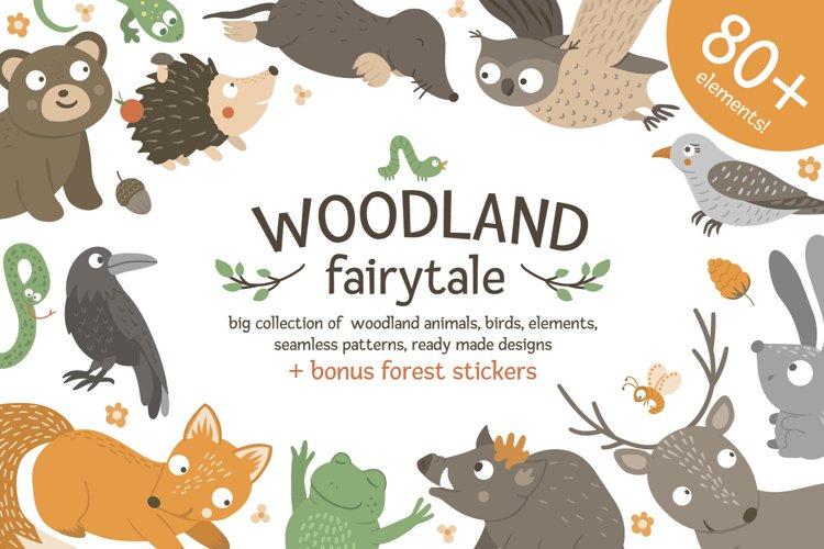 Download Woodland Fairytale 416841 Illustrations Design Bundles
