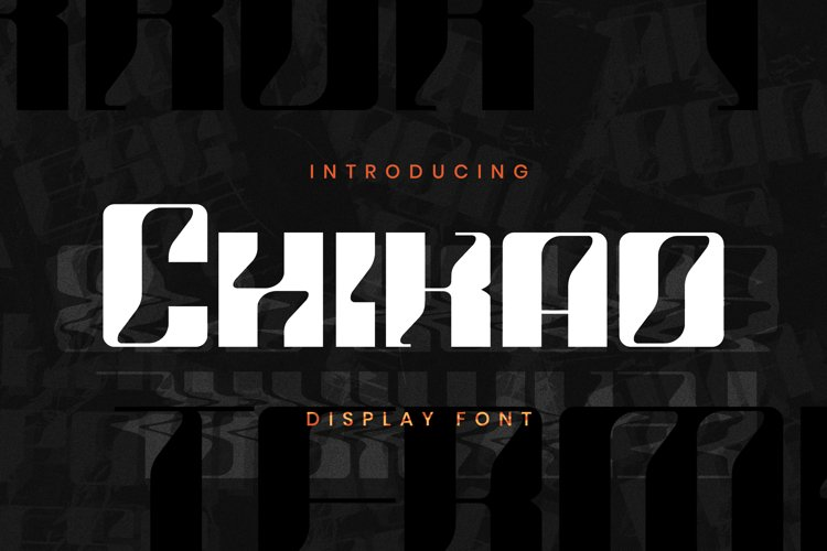 Chikao Font example image 1