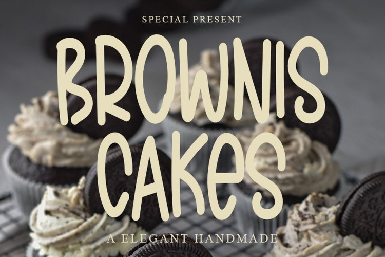 Brownis Cakes example image 1