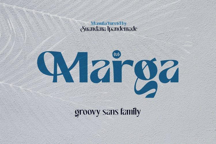 Marga - Groovy Sans Family example image 1