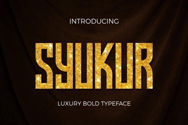 Syukur example image 1