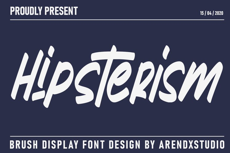 Hipsterism | Display Font example image 1