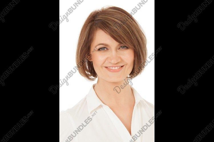 Studio shot of attractive adult woman example image 1
