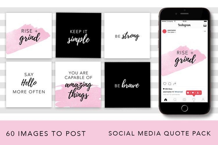 Girl Boss Instagram Quote Pack