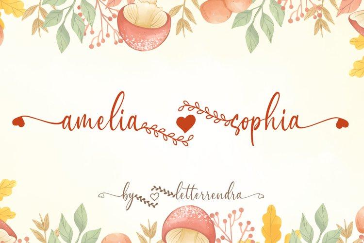 Amelia Sophia example image 1