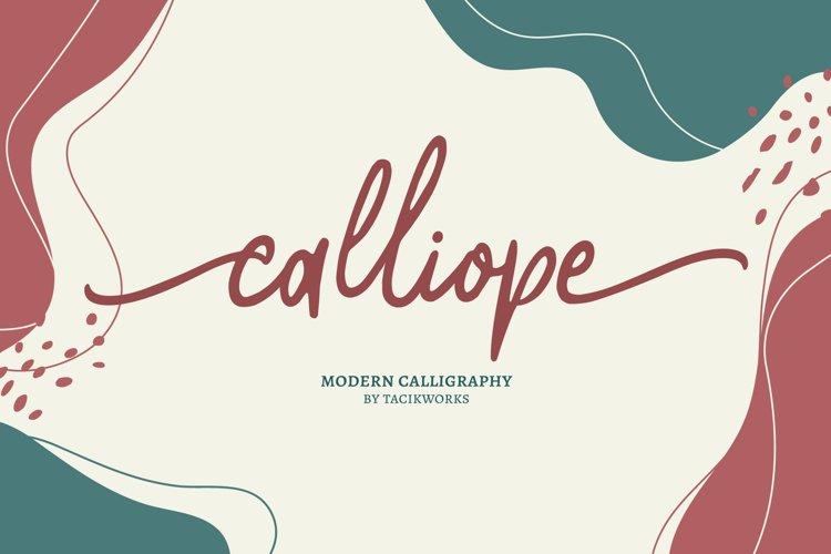 Calliope Modern Calligraphy example image 1