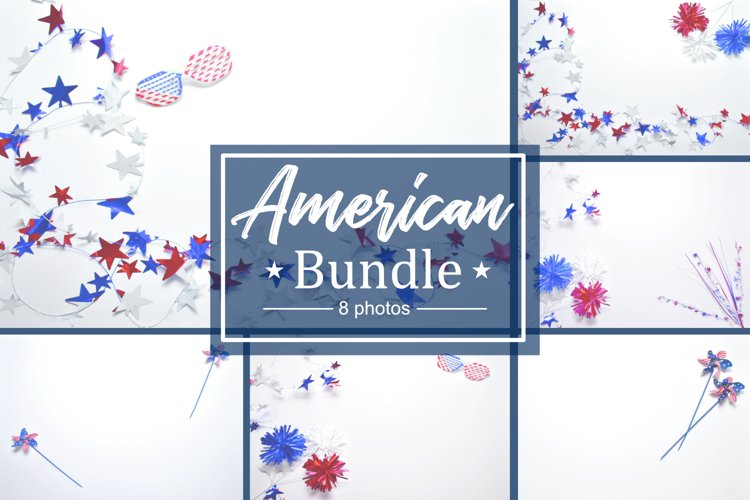 American Lay Flat Style Photo Bundle example
