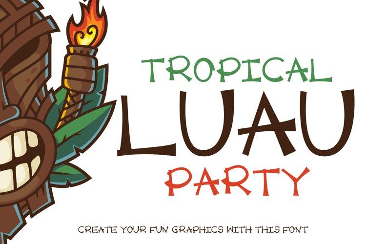 Luau Party example image 1
