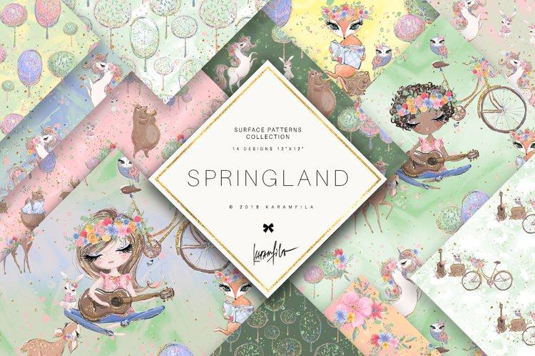 Spring Woodland Patterns