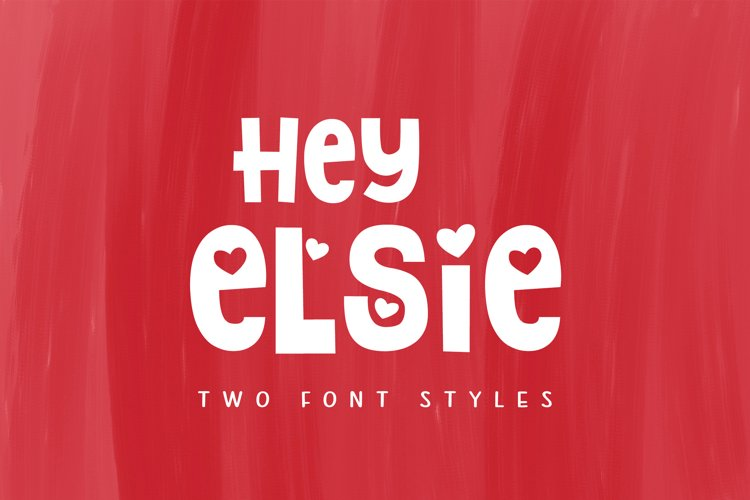 Hey Elsie example image 1