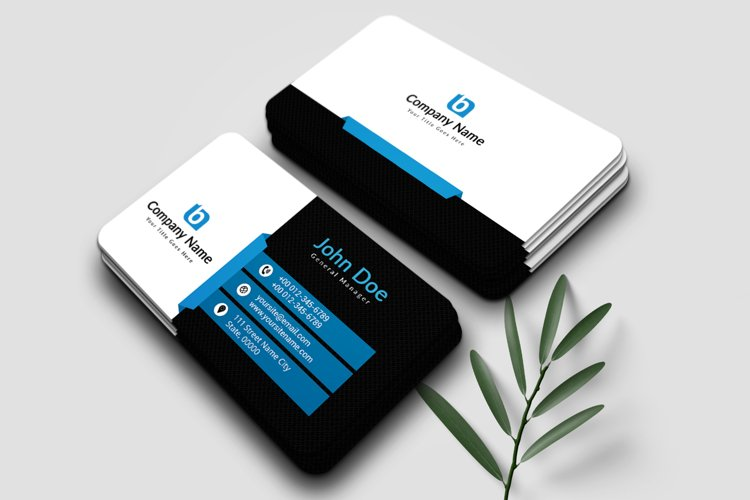 Minimalist Business Card Template example image 1