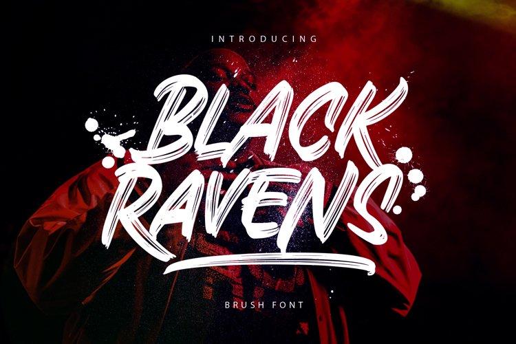 Black Ravens - Dry Brush example image 1