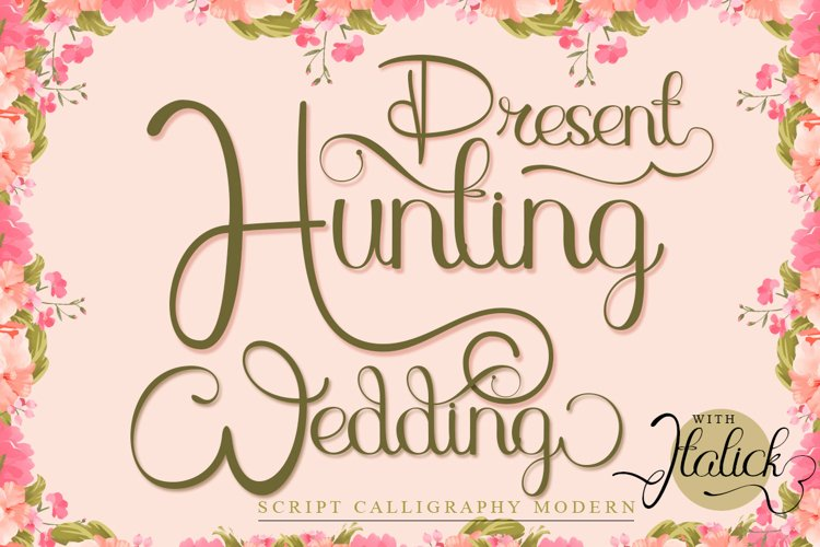Hunting Wedding example image 1