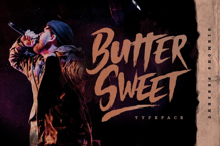 Butter Sweet Typeface example image 1