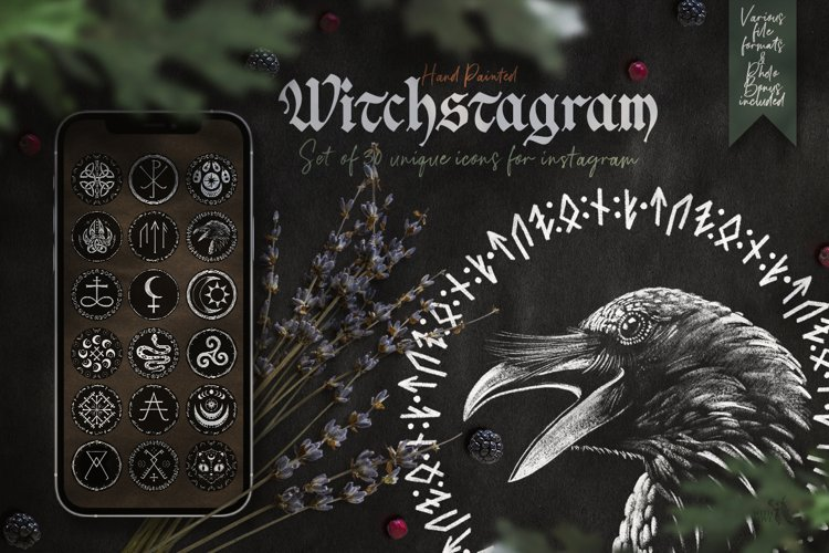 Witchstagram Highlights Cover Icons