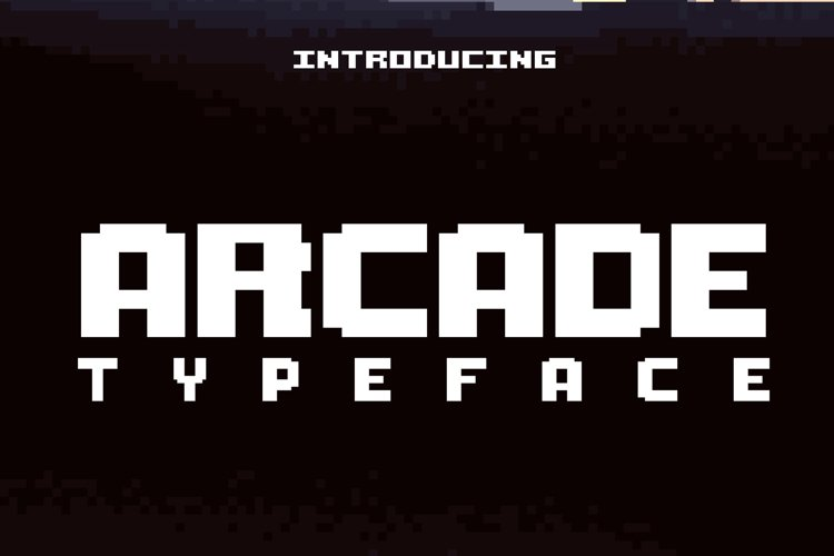 Arcade Typeface
