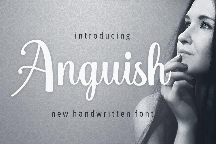 Web Font Anguish example image 1