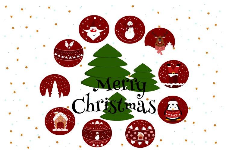 Christmas balls svg, Christmas graphics example image 1