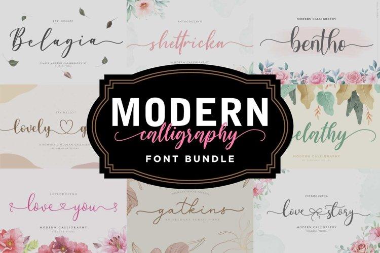 Modern Calligraphy - Font Bundle