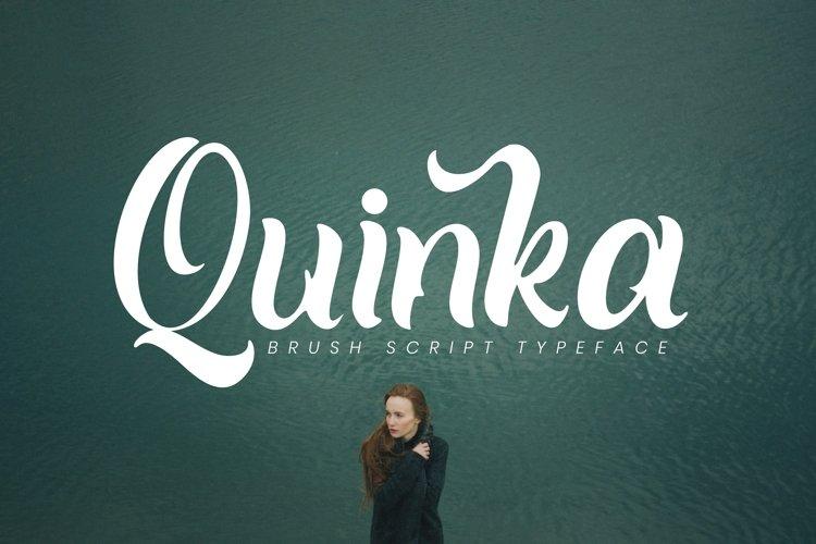 Quinka - A Casual Script Font example image 1