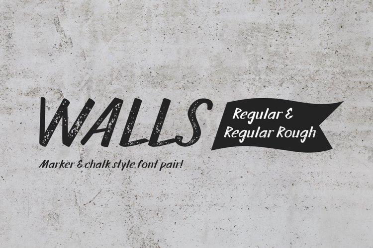 Walls Regular & Walls Rough Regular example image 1