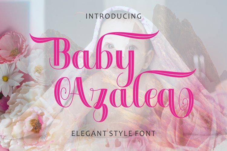 Baby Azalea example image 1
