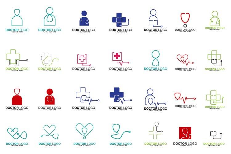 Set of Doctor Logo example image 1