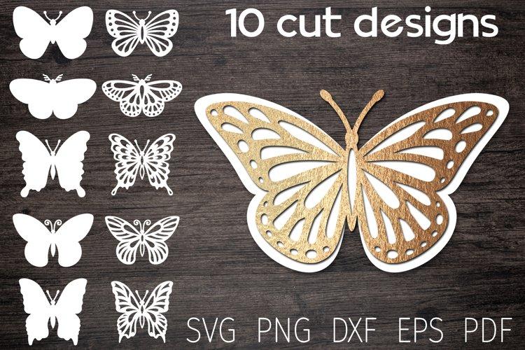 Butterfly svg bundle, 3d butterfly, layered butterfly paper
