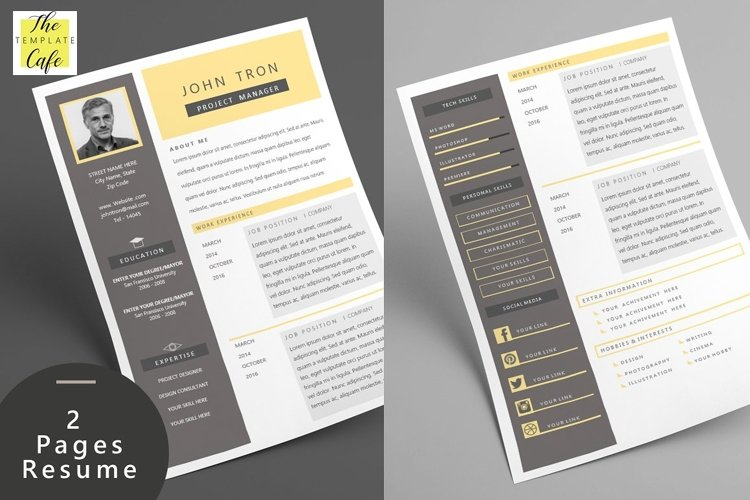 Express MS Word Resume Template