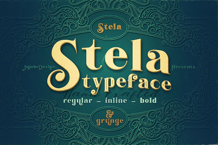 Stela - Display Font example image 1