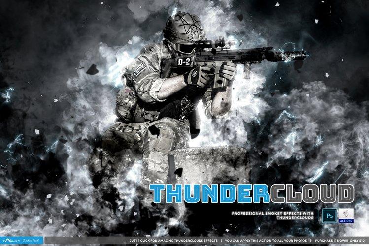 Thundercloud - Photoshop Action example image 1