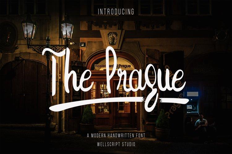 The Prague - A Modern Handwritten Font