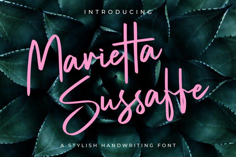 Marietta Sussaffe example image 1