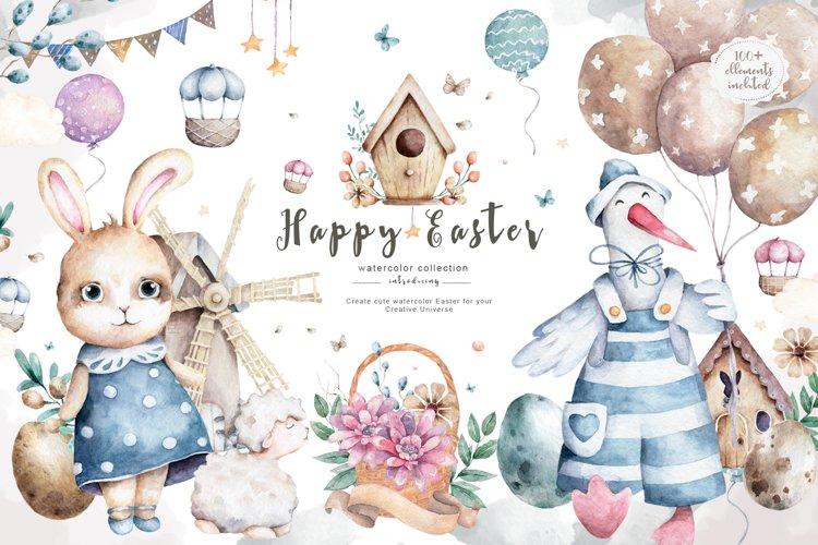 Happy Easter Spring Set