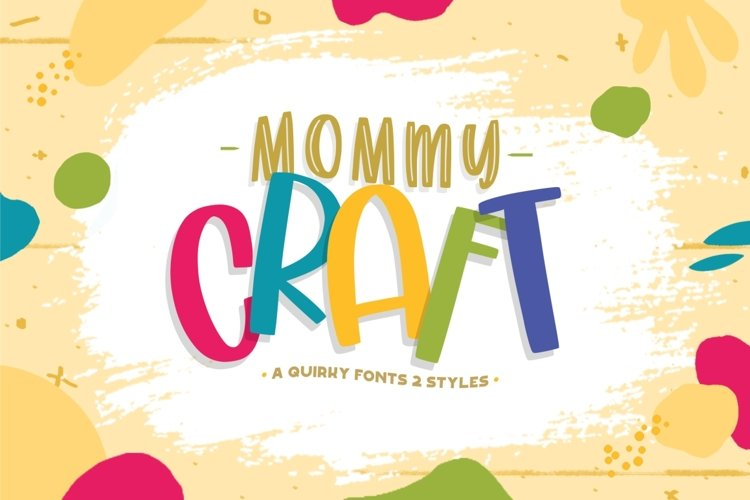 Mommy Crafts - Playfull Handdrawn example image 1
