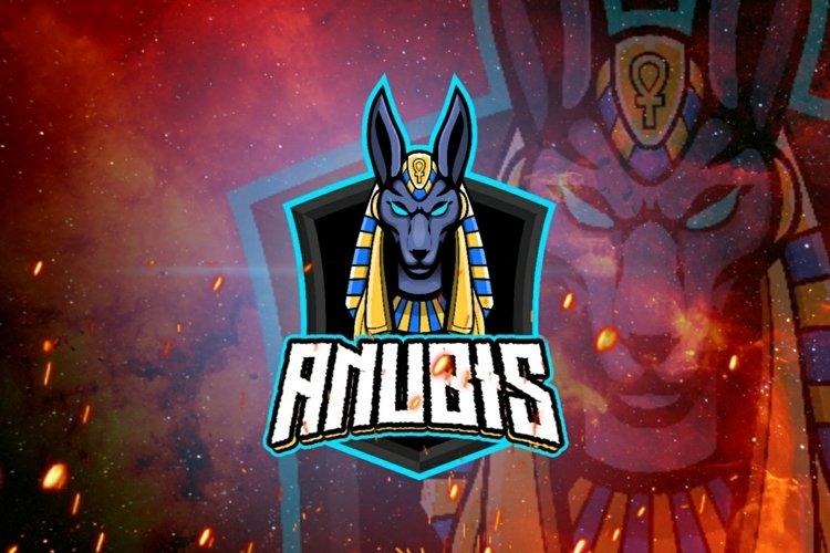 Anubis mascot logo design example image 1