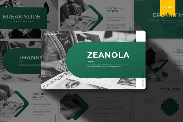 Zeanola | Google Slides Template example image 1