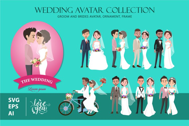 Wedding Avatar Collection example image 1