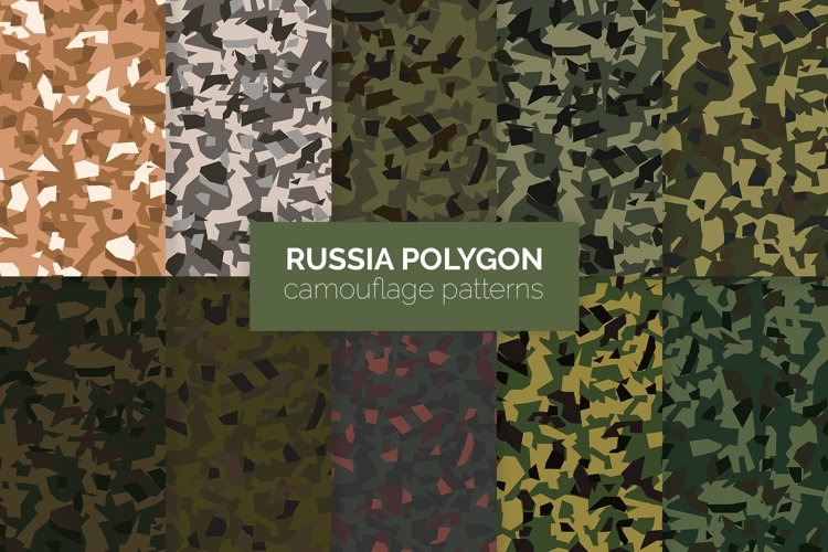 Russia Polygon Camouflage Patterns example image 1