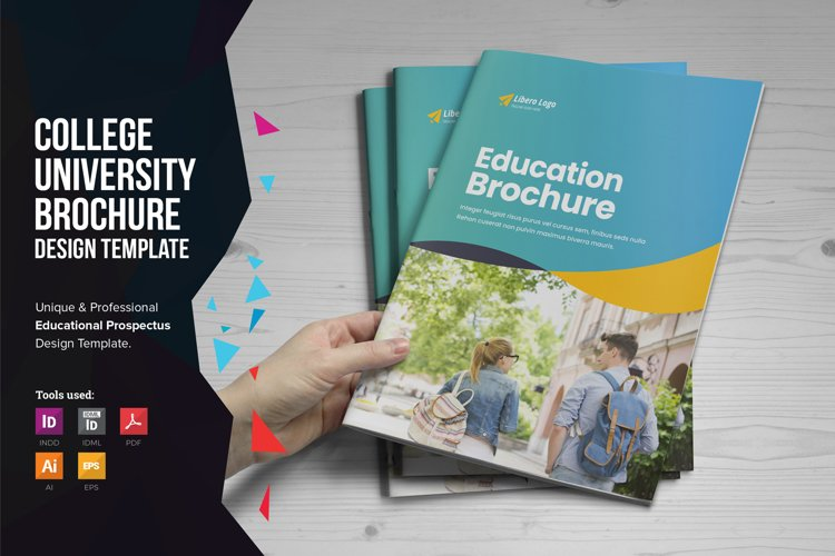 Education Prospectus Brochure v10 example image 1