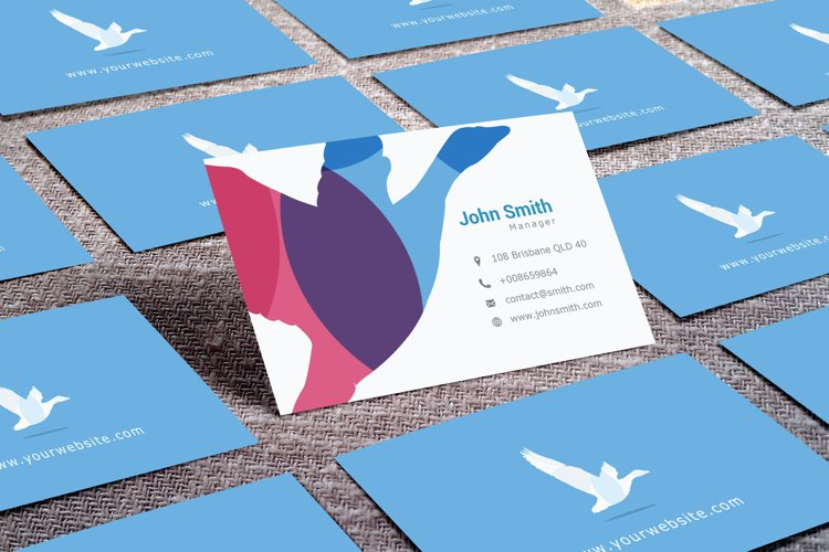 Business Card mock up example image 1