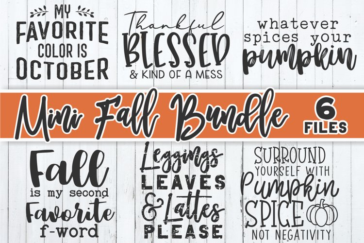 Fall Bundle SVG | Autumn Bundle | Shirt Design Bundle